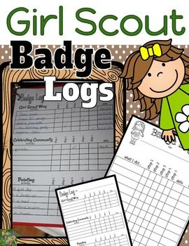 Keep track of your Girl Scout's achievements with these easy to use badge logs. This download includes a take home sheet that girls can use to keep track of any badges they are working towards outside of badges under the Legacy, Financial, and Make Your Own categories.