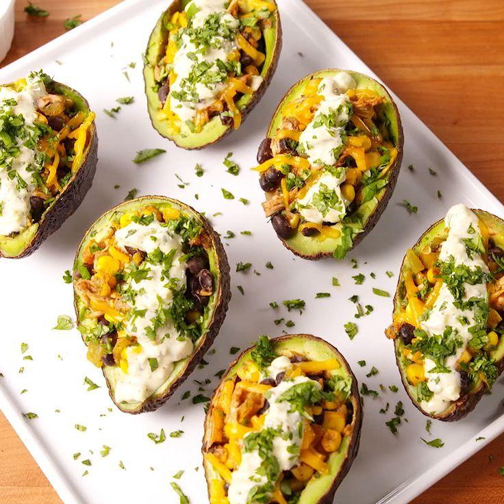 Chicken Taco Avocados Recipes Easy Cooking Recipes Avocado Recipes