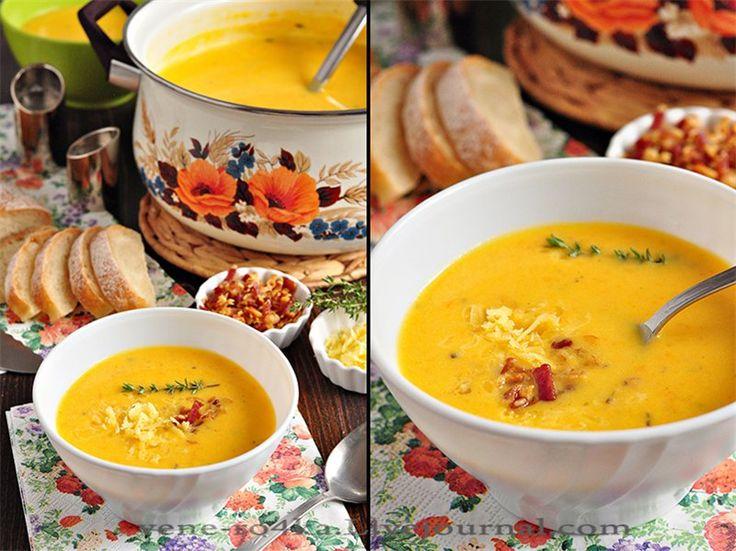 Идеальный картофельный суп-пюре. - Вкусная пауза