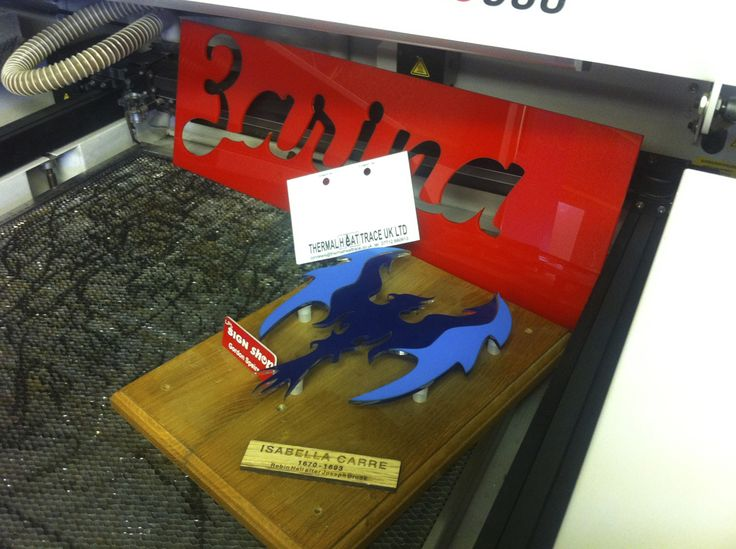 Some of our laser cutting and engraving work