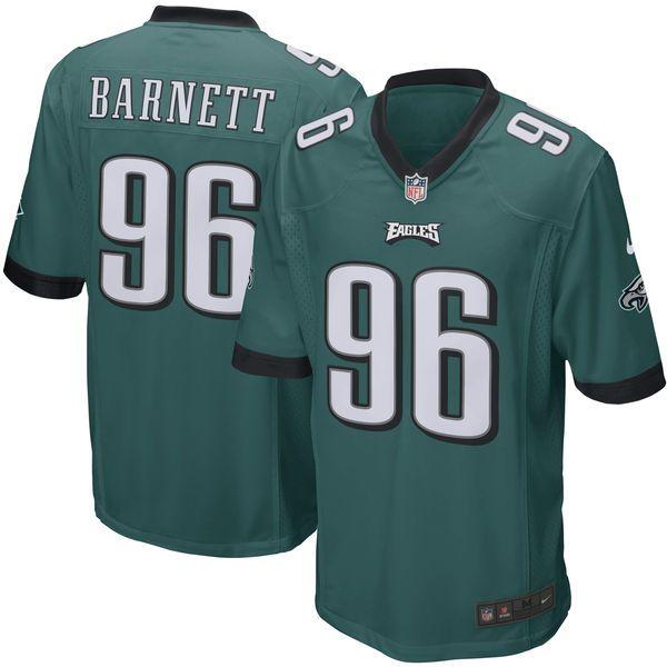 Derek Barnett Philadelphia Eagles Nike 2017 Draft Pick Game Jersey - Green - $99.99