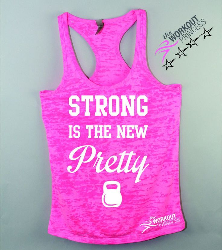 Strong is The New Pretty Bodybuilding Tank Top
