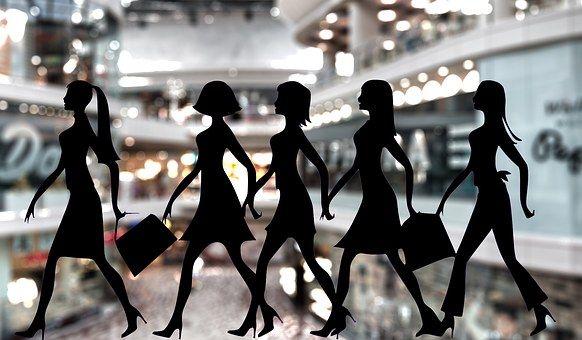 Покупка Товаров, Женщины, Магазины