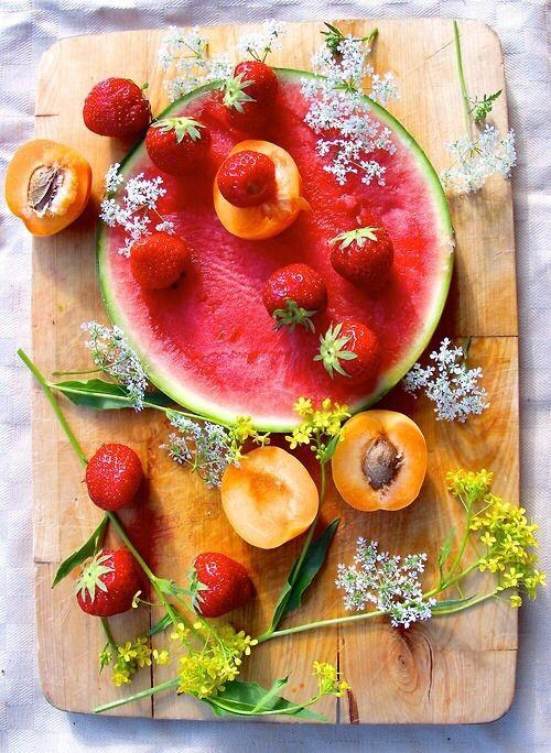 pretty fruit.