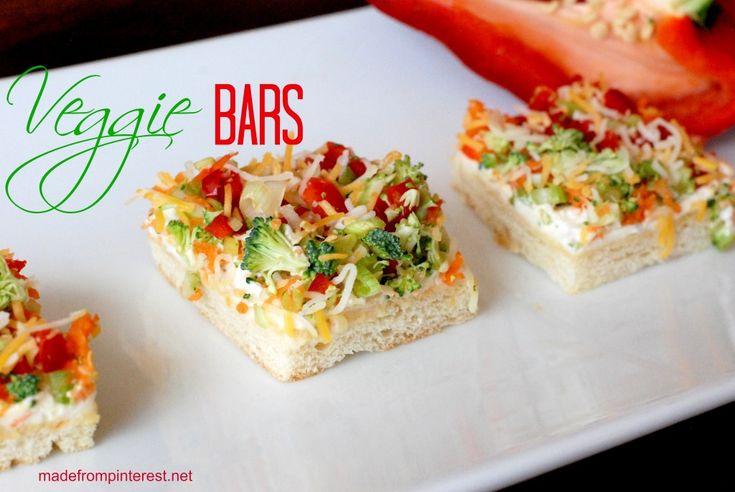 Veggie Bars 2