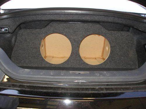 """Zenclosures Infiniti G37 / Q60 Coupe 2-10"""" Subwoofer Box. Infiniti G37 Subwoofer Box."""