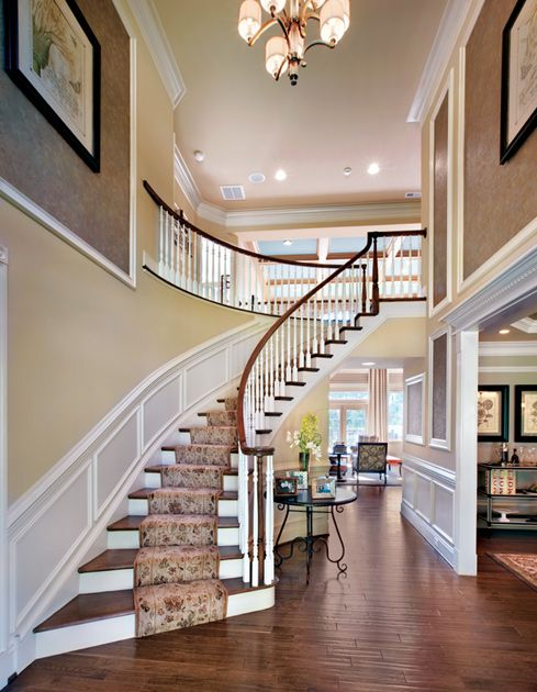Foyer Stairs For Sale : Toll brothers america s luxury home builder story