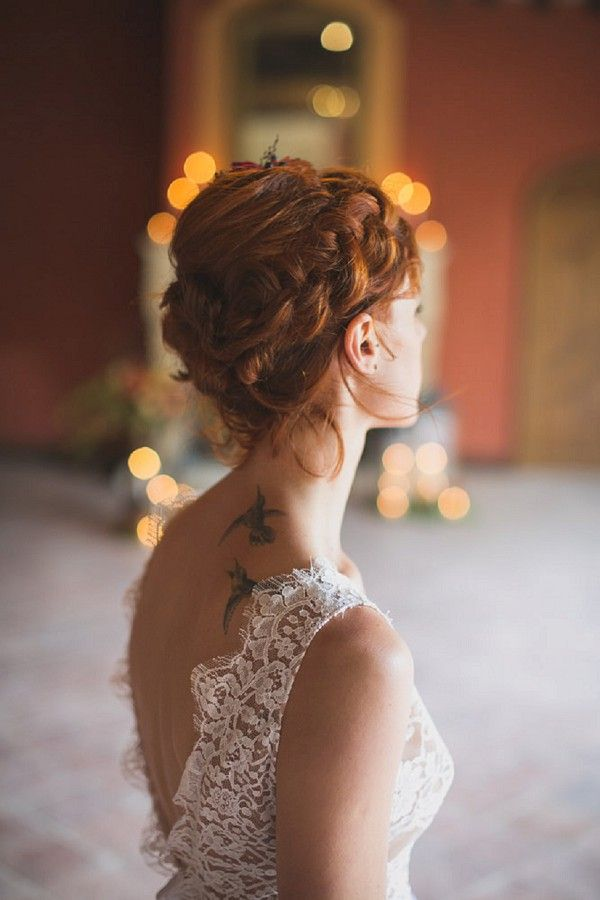 Braided Wedding Hair   Image by DoctibPhoto