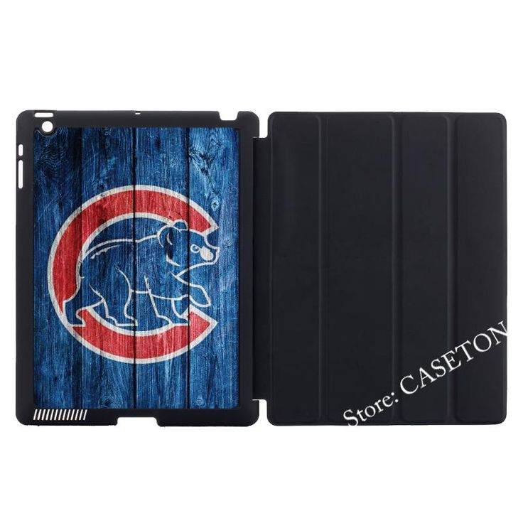 Chicago Cubs Baseball Stand Folio Cover Case For Apple iPad Mini 1 2 3 4 Air Pro 9.7 10.5 12.9 2016 New 2017 a1822