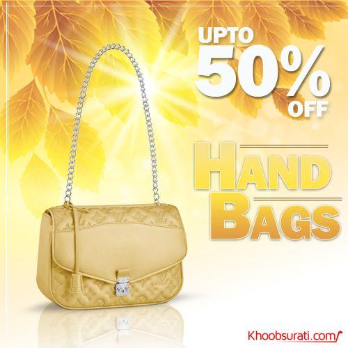 #Online_Shopping #Shopping_Online @ khoobsurati.com Get #Stylish_Handbags Upto 50% Off  http://khoobsurati.com/women/bags/hand-bags