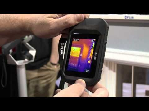 Hands on with the FLIR C2 - YouTube