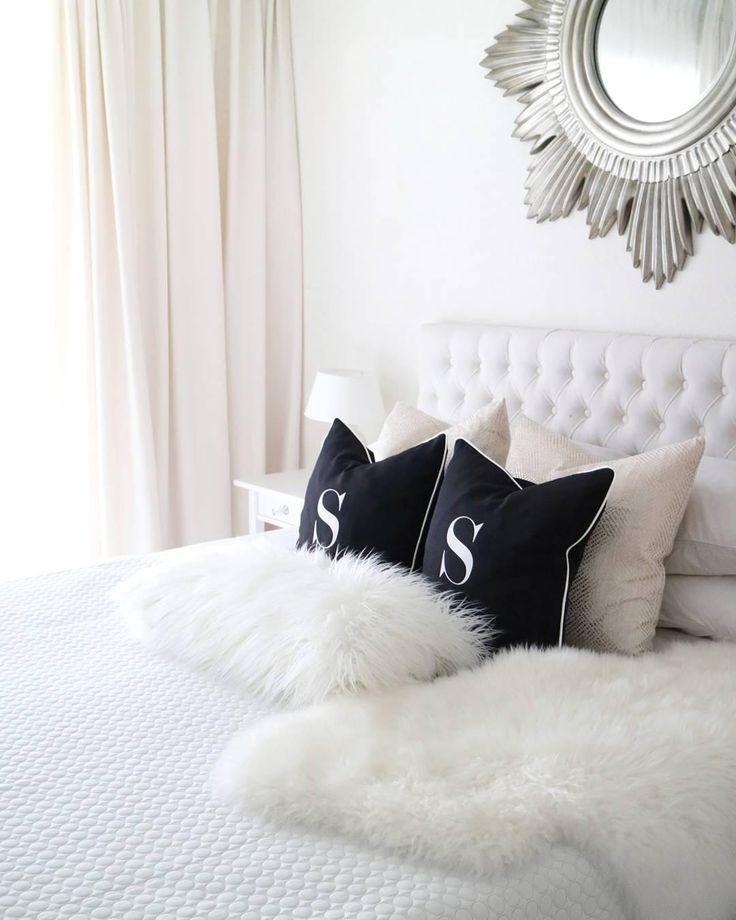 Die besten 25+ Schaffell Ideen auf Pinterest Flauschiger teppich - ideen fur einrichtung entspanntes ambiente schlafzimmer