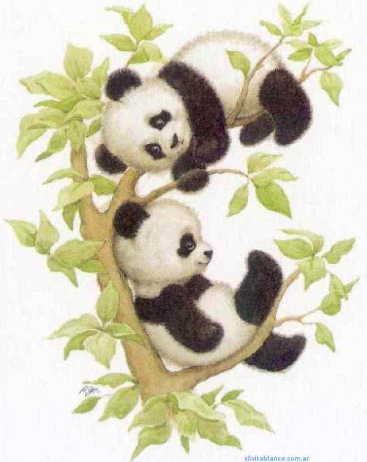 Ms de 25 ideas increbles sobre Dibujos de osos panda en