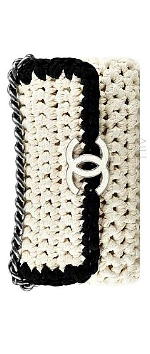 Chanel Crochet Clutch