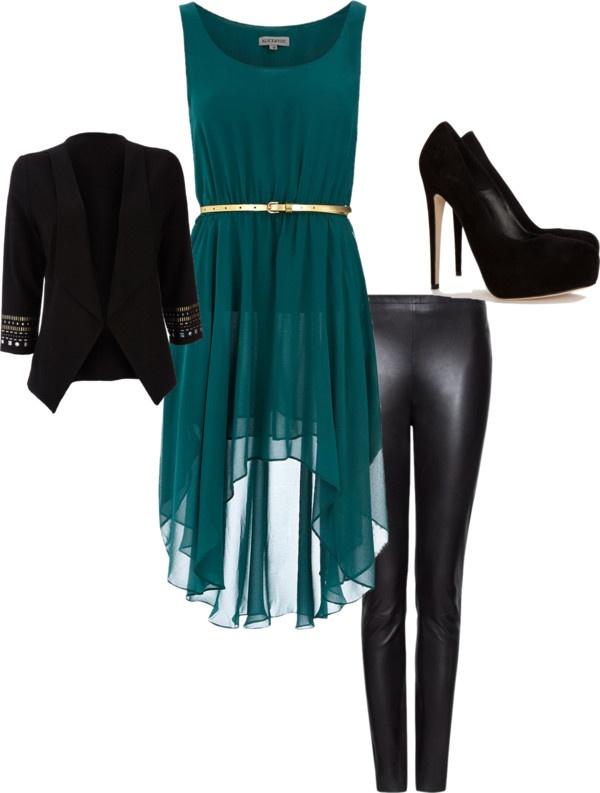 """robe de soiree verte"" by claire-fu on Polyvore"