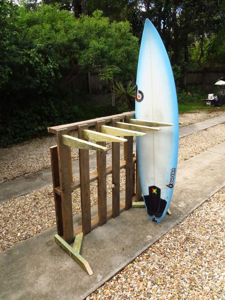 DIY surfboard rack pallets - Google Search