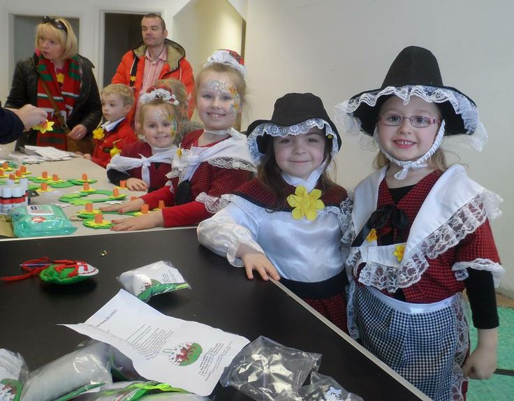 St Davids Day 2014 craft workshops