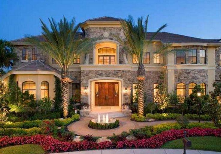 $2.49 Million Mediterranean Lakefront Mansion In Wellington, FL