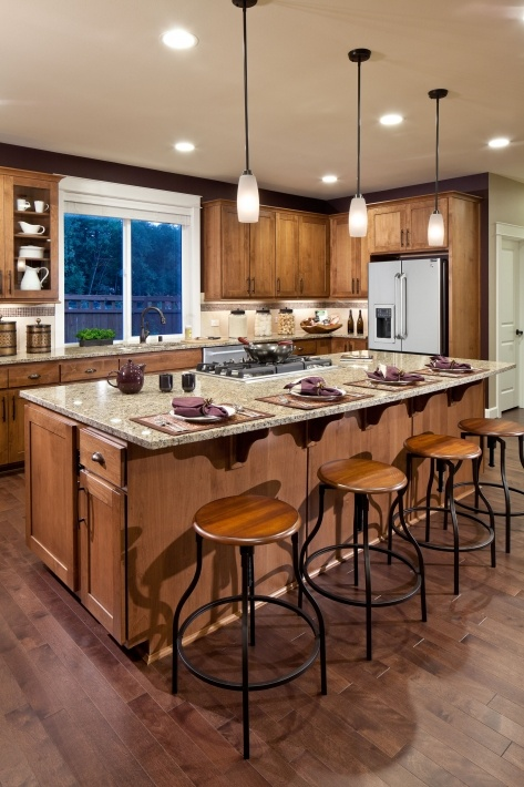 Kitchen Island With Stove And Seating 16 best kitchen islands images on pinterest | kitchen ideas