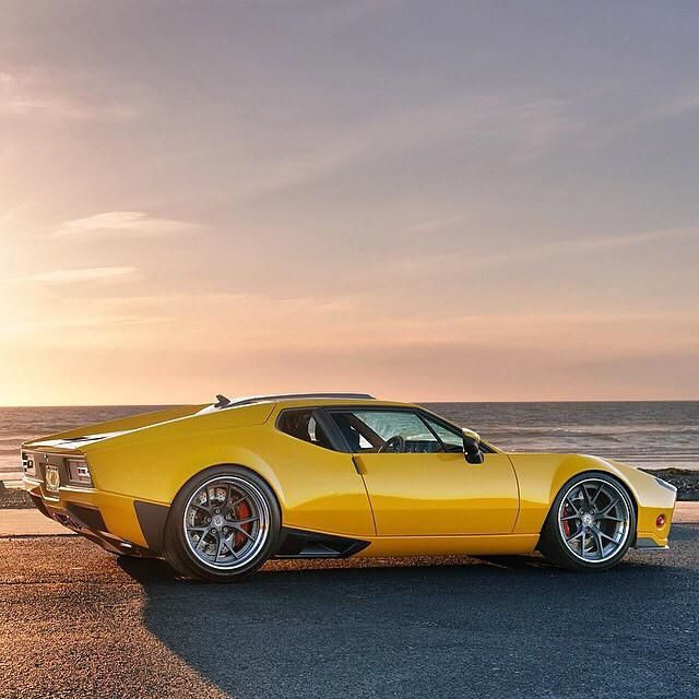 """fullthrottleauto: """" gearheaddiva: """" '71 Pantera by Ring Brothers """" one of the best looking panteras I've seen """""""