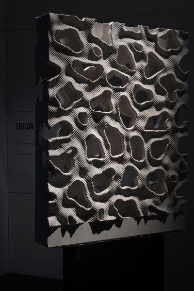 Digital Lithic Design – The Italian Stone Theatre: Leucon. Digital Lithic Design, mostra che unisce design, tecnologia e progettazione digitale nel settore lapideo italiano. #Marmomacc #Marble #Stone #Design #Verona http://architetturaedesign.marmomacc.com/the-italian-stone-theatre/le-sperimentazioni-litiche/digital-lithic-design/