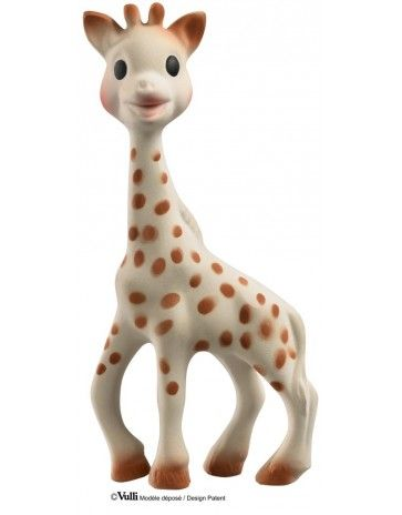 Sophie the Giraffe - the 100% Natural Teething Toy