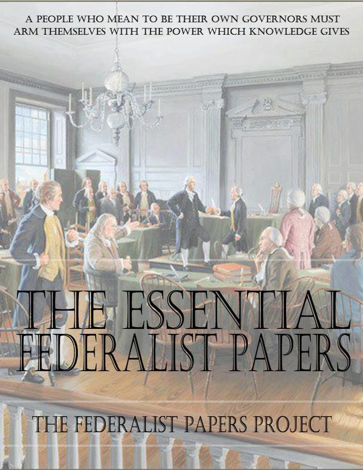 "the federalist was a series of essays written by Ost of us have learned a bit about the federalist papers at some point along the way we may recall the papers were a series of essays written by alexander hamilton, james madison and john jay, under the pen name ""publius,"" to promote ratification of the constitution probably, however, we remember little more."