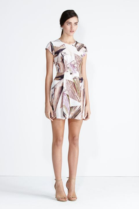 Secret South SS13/14 collection.  Galaxy Dress in Glacier Silk. www.secretsouth.com.au