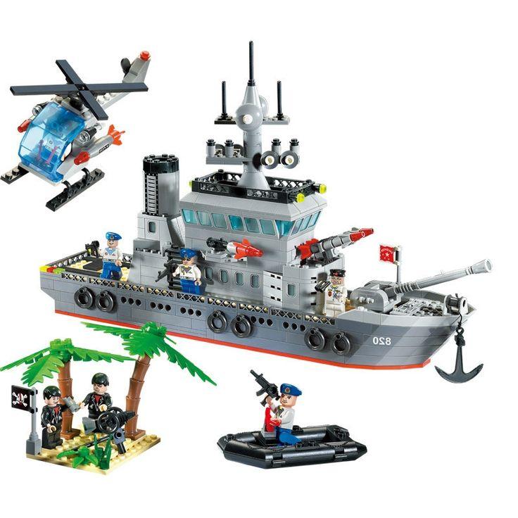 33.19$  Buy here - https://alitems.com/g/1e8d114494b01f4c715516525dc3e8/?i=5&ulp=https%3A%2F%2Fwww.aliexpress.com%2Fitem%2F614Pcs-Enlighten-Military-Series-Toys-Navy-Frigate-Ship-Assembling-Building-Block-Set-Minifigures-Compatible-With-Lego%2F32394516558.html - 614Pcs Enlighten Military Series Toys Navy Frigate Ship Assembling Building Block Set Minifigures Compatible With Lego