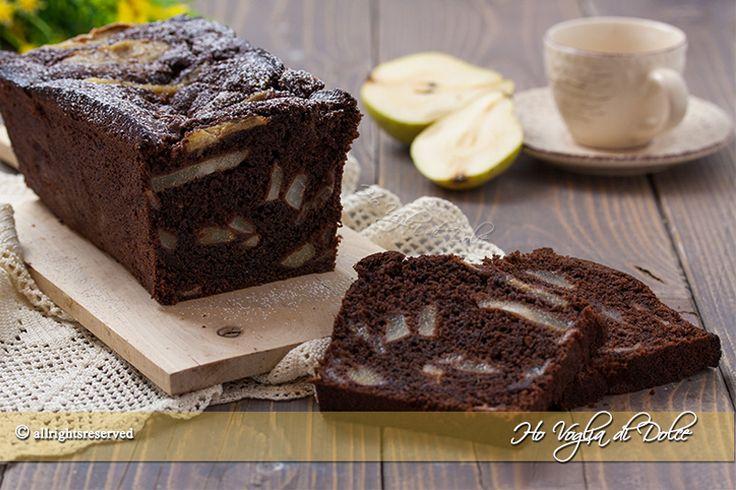 Plumcake+pere+e+cioccolato