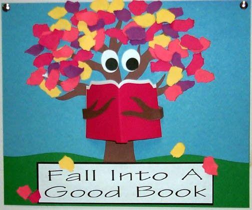 Bulletin Board Ideas For Teachers | The Centered School Library: Fall Bulletin Board Ideas