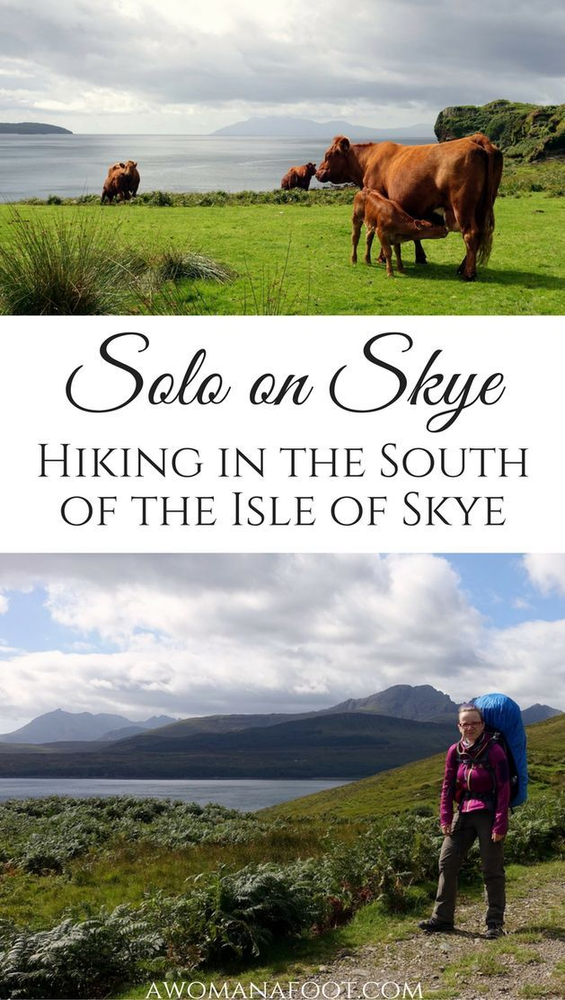Solo on Skye: Discover the raw beauty of Isle of Skye's southern parts. http://Awomanafoot.com