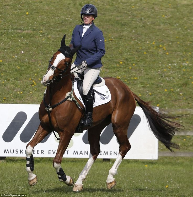 Previous competitors at the Burnham Market International Horse Trials include Team GB Olympians Zara, William Fox-Pitt, Pippa Funnell and Mary King, and local girl and past European silver medallist, Piggy French. Zara, 35, is pictured on her horse at the renowned event in Norfolk