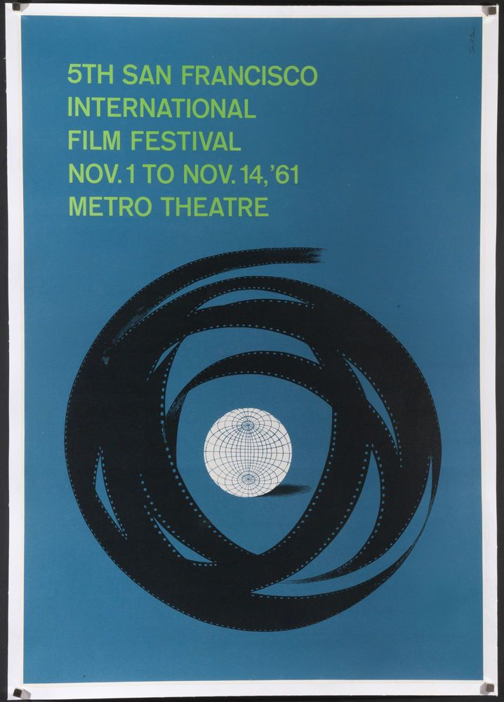 Saul Bass San Francisco Film Festival Poster