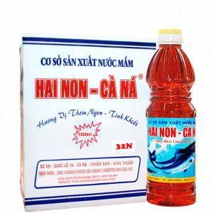 Nước mắm Hai Non Cà Ná 32 đô đạm 1 lít