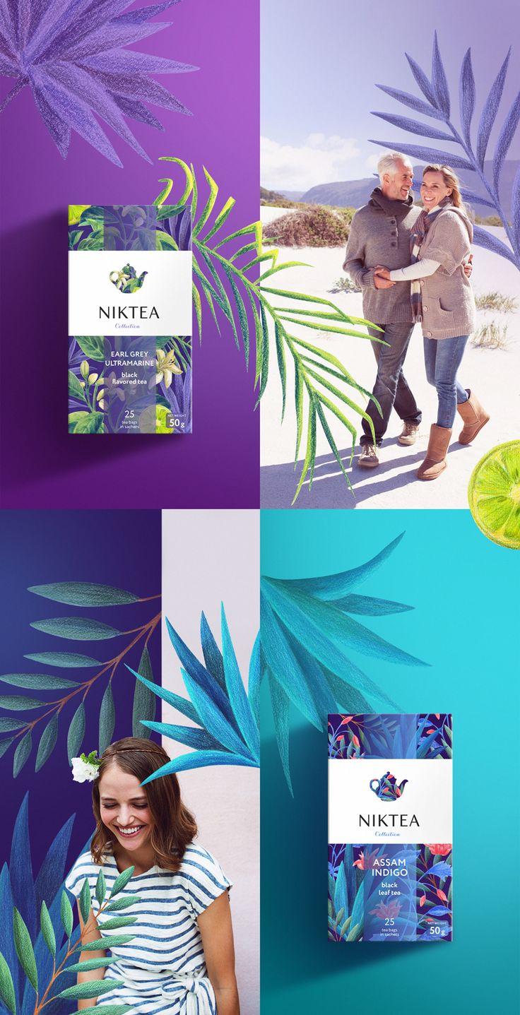 Niktea: Дизайн этикетки, Корпоративный брендинг, Ритейл брендинг, Разработка логотипа, Товарный брендинг, Фирменный стиль, Дизайн упаковки и дизайн этикетки