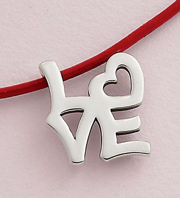 Valentine Collection 2016 - Love Necklace #JamesAvery