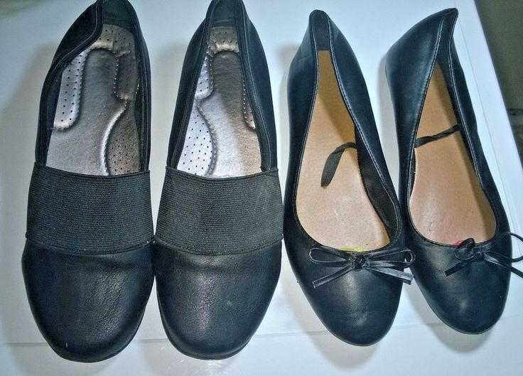 women's shoes 2 pairs 38 sizes, couples in very good #7ForAllMankind #Ballerinas