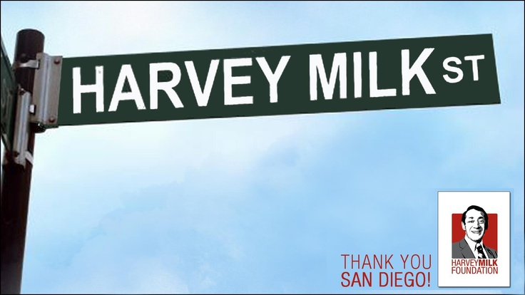 Harvey Milk Ave - Hillcrest, San Diego   #HarveyMilkDay @Hmilkfoundation