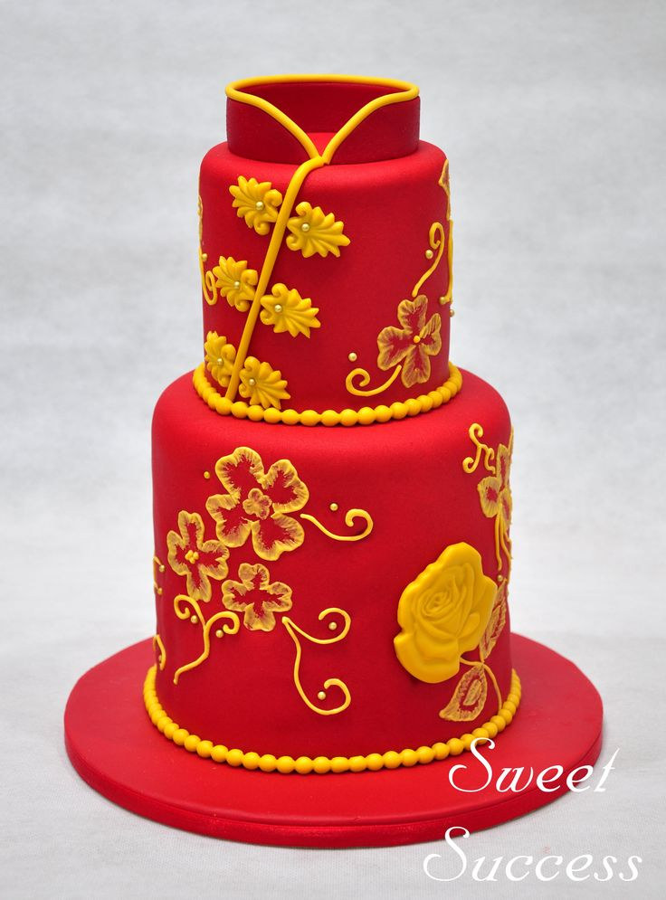 Cheongsam Cake 4
