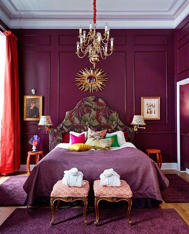 Glamorous Studio Apartment Ideas: 25+ Best Ideas About Magenta Walls On Pinterest