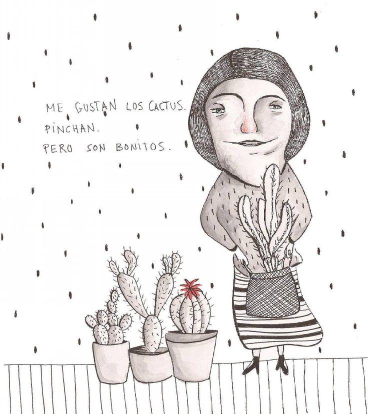 I love cactus. Maria Velat.