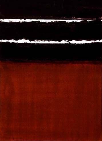 rerylikes:    Pierre Soulages. Brou de noix, 75x54cm, 2003. Papier marouflé sur toile  [Tumblr Monday with yama-bato]  (viaartchipel)