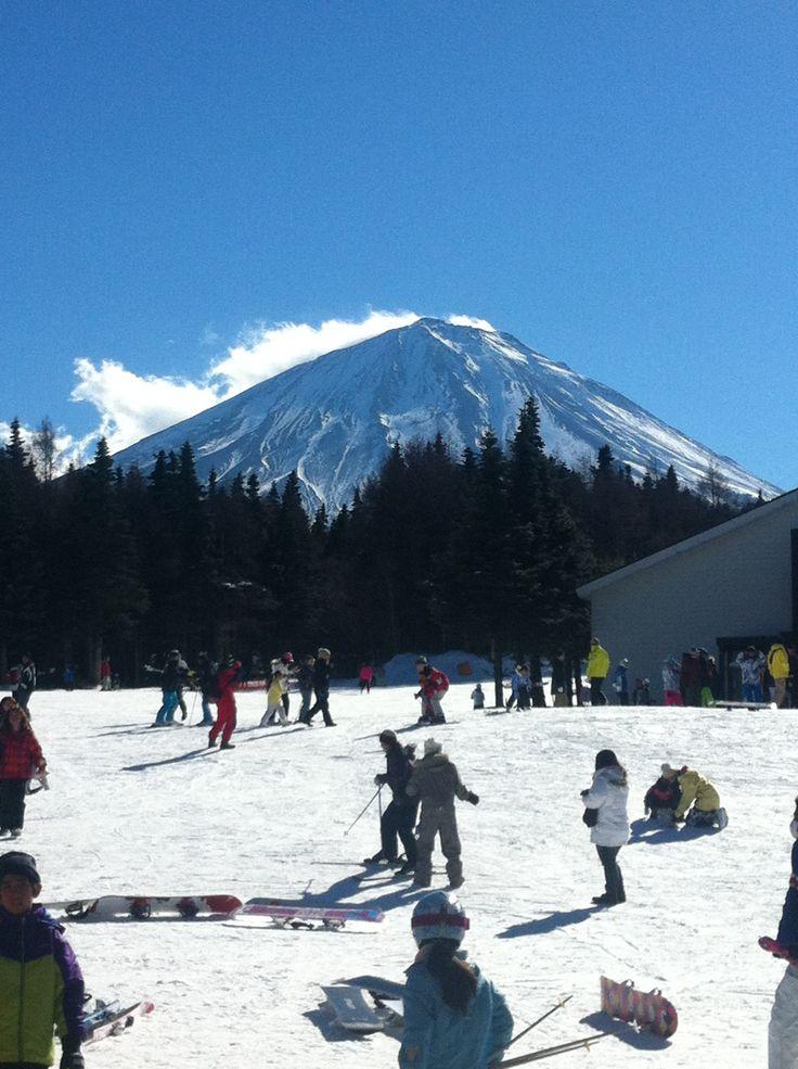 Fijiten ski resort Japan