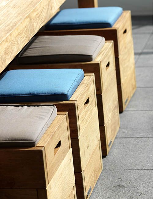 BIB' N TUCKER | alwill  #wood #dining #outdoor