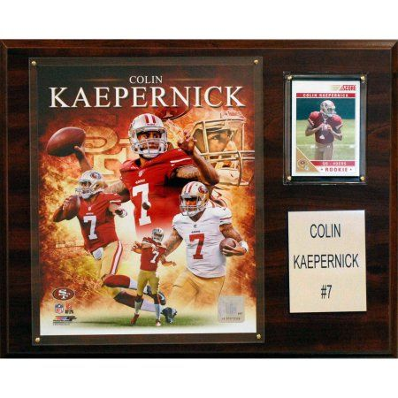 C Collectables NFL 12x15 Colin Kaepernick San Francisco 49ers Player Plaque