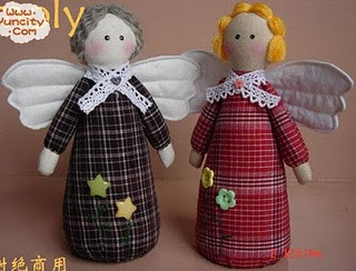 anjosMuñecos Country, Artesanato Feltro, Angels, Christmas Crafts, Dolls, Angelitos Faciles, Angels Faciles, Christmas Angels, Angelvo