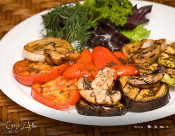 Маринад для овощей гриль. Ингредиенты: бальзамический уксус, оливковое масло, мед | Кулинарный сайт Юлии Высоцкой: рецепты с фото