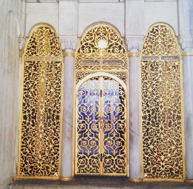 Palace Decor, Topkapi Palace Istanbul by www.grandbazaarshopping.com