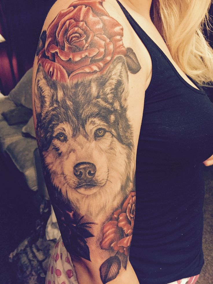 the 25 best wolf tattoos ideas on pinterest tree tattoo. Black Bedroom Furniture Sets. Home Design Ideas